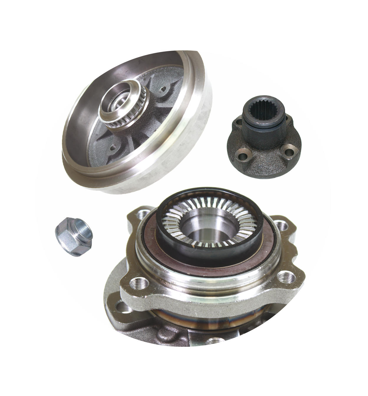 Wheel Hubs and Transmission Parts